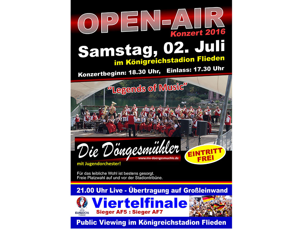 Open-Air Konzert